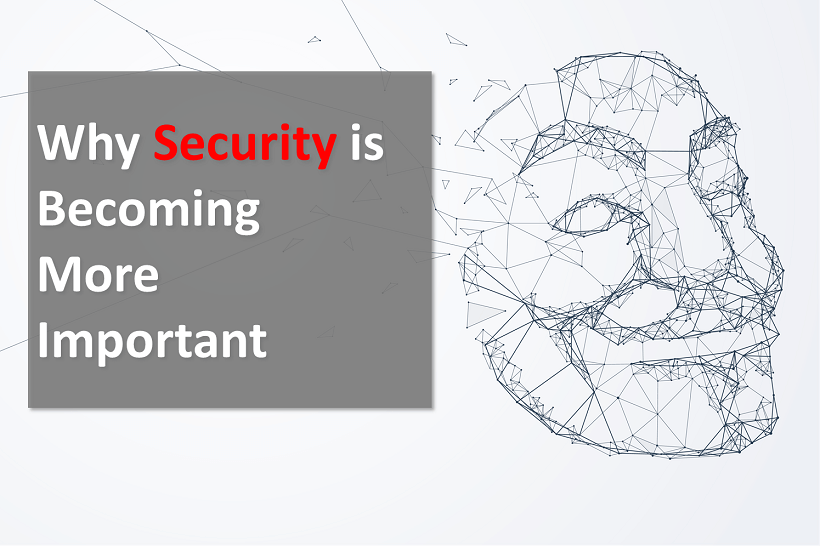 Why Security is Becoming More Important (2nd edition)